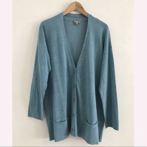 J.Jill cardigan blue  size XL